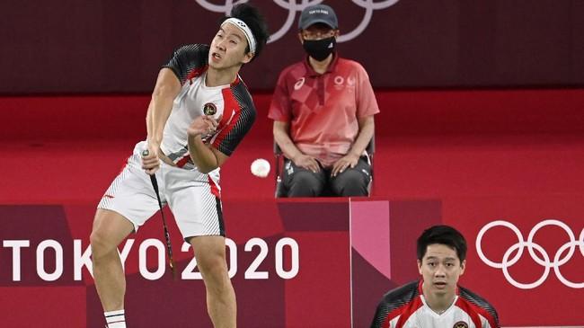 Olimpiade: Kevin/Marcus Selalu Menang 2 Gim Atas Ganda Taiwan
