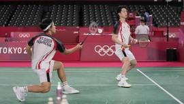 Kevin/Marcus ke Perempat Final Olimpiade, MU Dapatkan Varane