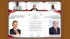 Telkom Jalin Kerjasama Dengan Media Group
