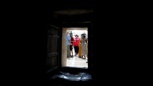 Kota Betlehem kembali menyambut kedatangan rombongan ziarah dan wisata di tengah pelonggaran aturan pembatasan perjalanan virus Corona.