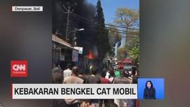 VIDEO: Kebakaran Bengkel dan Rumah