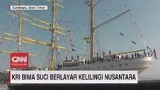 VIDEO: KRI Bima Suci Berlayar Kelilingi Nusantara