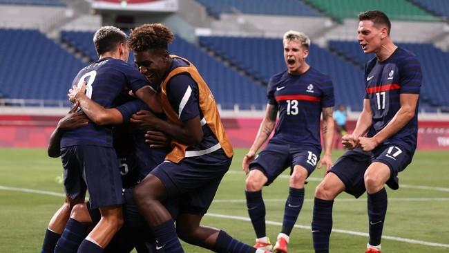 Prancis vs Jepang: Duel Hidup-Mati Les Bleus di Olimpiade