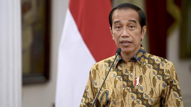 Jokowi Singgung APBD Medan Masih Tersimpan Rp1,8 T di Bank