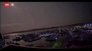 VIDEO: Detik-detik Meteor Meledak di Langit Norwegia