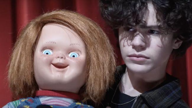 Layanan saluran televisi berbayar SYFY merilis teaser terbaru dari serial Chucky dalam panel Legacy of Chucky di acara Comic-Con pada Minggu (25/7).