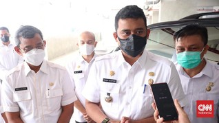 Wali Kota Bobby Bakal Tes Antigen Pelanggar Prokes di Medan