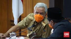Ganjar soal Dukungan Jokowi Mania: Saya Masih Urus Pandemi