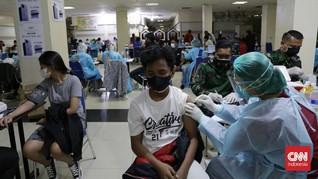 Rincian Vaksinasi Covid Jawa, Jateng-Banten Terendah