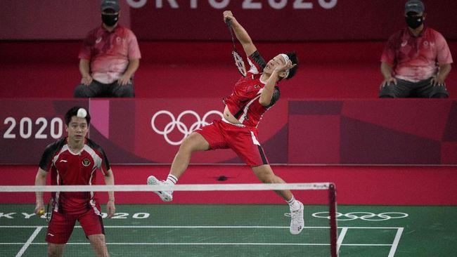 Kevin/Marcus bakal berjumpa Aaron/Soh di perempat final Olimpiade 2020. Berikut fakta menarik jelang duel tersebut.