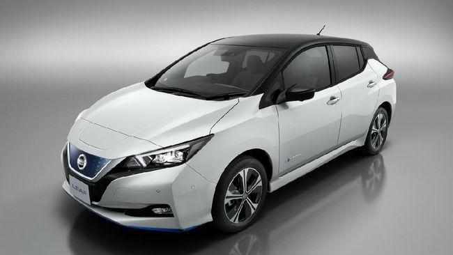 Nissan Leaf, mobil listrik yang sudah diperkenalkan di Indonesia sejak 2019, terindikasi bakal diluncurkan sebagai produk baru.