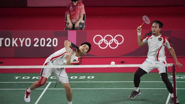 Ahsan/Hendra Jadi Juara Grup di Olimpiade Tokyo 2020