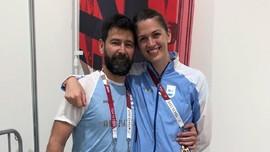 Atlet Anggar Argentina Dilamar Pelatihnya di Olimpiade Tokyo