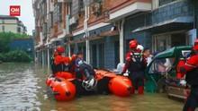 VIDEO: Ratusan Ribu Warga China Dievakuasi Imbas Topan In-Fa