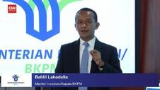 VIDEO: Revisi Target Investasi 2021, Bahlil: Belum Terpikir