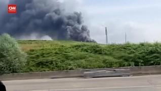 VIDEO: Ledakan Kawasan Industri di Jerman, Lima Orang Hilang