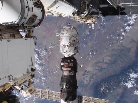 VIDEO: Detik-detik Pelepasan Modul Rusia dari ISS di Angkasa