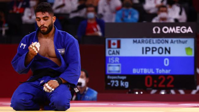 Judoka asal Israel Tohar Butbul menjadi sorotan di Olimpiade Tokyo 2020 setelah dua lawan menolak melawannya.