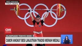 VIDEO: Tradisi Medali Angkat Besi di Olimpiade