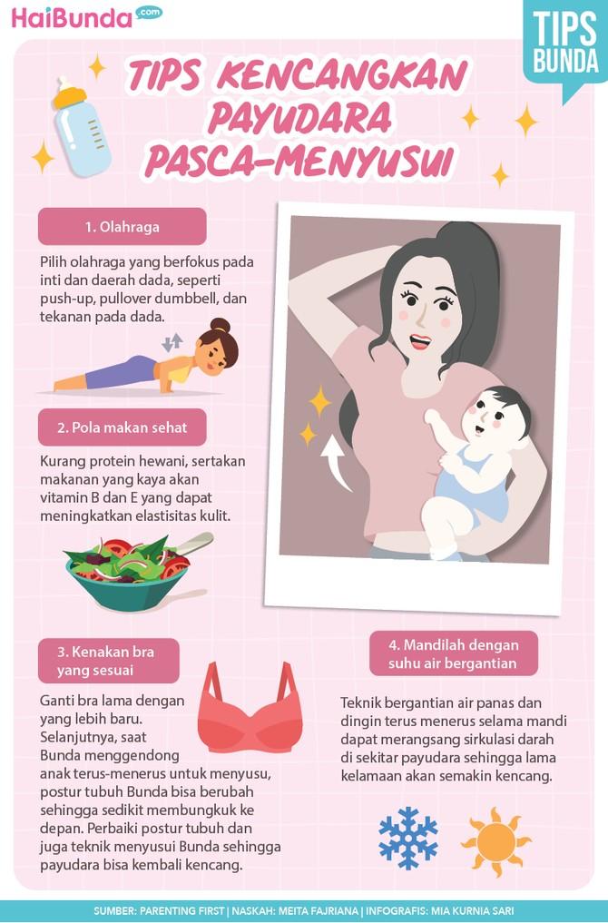 Tips mengencangkan payudara