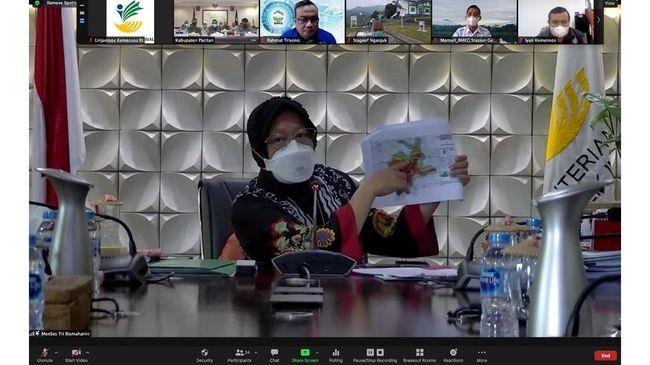 Mensos Risma menyampaikan tiga pesan agar pemerintah bersiaga terhadap prediksi BMKG tentang potensi tsunami yang dapat terjadi di pantai Selatan Jawa.