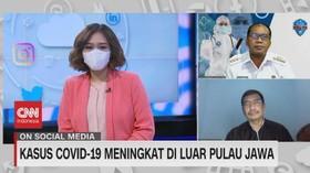 VIDEO: Kasus Covid-19 Meningkat di Luar Pulau Jawa