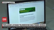 VIDEO: Perluasan Layanan Telemedicine Bagi Pasien Isoman