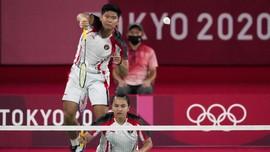 FOTO: Mimpi Medali Olimpiade Praveen/Melati Berakhir