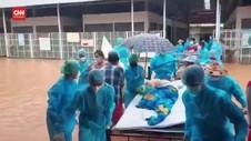 VIDEO: Banjir 'Hadang' Myanmar Perangi Covid-19