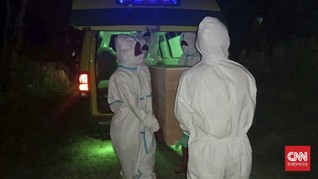 Relawan Makam Covid-19 di Pamekasan Pasrah di Bawah Ancaman