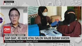VIDEO: Siap-siap ke Kafe atau Salon Wajib Sudah Vaksin