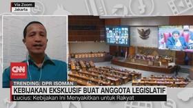 VIDEO: Kebijakan Eksklusif Buat Anggota Legislatif