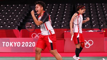 Greysia/Apriyani Lolos Semifinal Olimpiade Tokyo