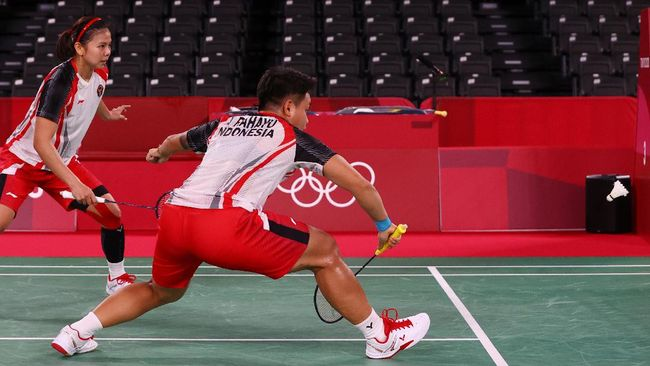 Berikut link live streaming Greysia Polii/Apriyani Rahayu vs Lee So Hee/Shin Seung Chan pada semifinal badminton Olimpiade Tokyo 2020.