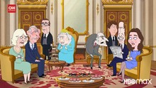 VIDEO: The Prince, Animasi Komedi soal Kerajaan Inggris