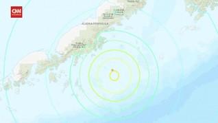 VIDEO: Gempa di Semenanjung Alaska Picu Peringatan Tsunami