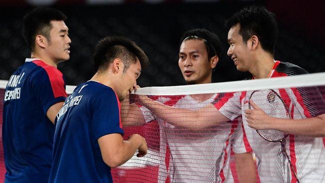 Usai lolos ke final Olimpiade, Lee Yang/Wang Chi Lin mengungkapkan bahwa Mohammad Ahsan/Hendra Setiawan adalah idola mereka.