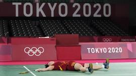 Tim Super Jepang Gagal Raih Emas Badminton Olimpiade