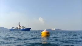 BPPT Pasang Buoy AI di Perairan Gunung Anak Krakatau