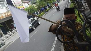 PKL Malioboro Kibarkan Bendera Putih, Minta Pelonggaran PPKM