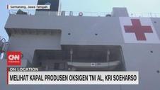VIDEO: Melihat Dekat Kapal KRI Dokter Soeharso