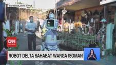 VIDEO: Robot Delta Sahabat Warga Isoman