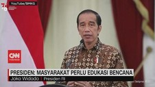 VIDEO: Jokowi: Indonesia Punya Resiko Tinggi Bencana