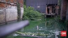 FOTO: Cerita Kampung Apung Terdesak Air di Tanah Sendiri