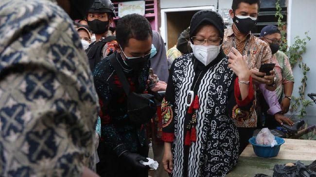 Menteri Sosial Tri Rismaharini menyikapi serius dan tidak segan bertindak tegas jika bantuan sosial dari pemerintah tidak diterima sepenuhnya oleh masyarakat.