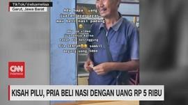 VIDEO: Kisah Pilu, Pria Beli Nasi Dengan Uang Rp.5.000