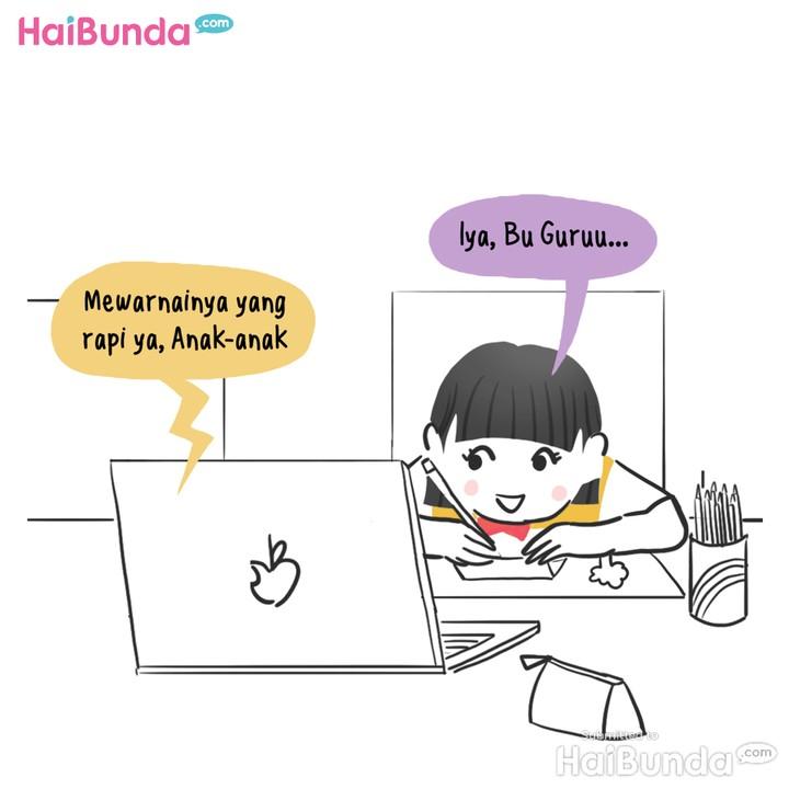 Komik: Enggak Kenal Teman Sekelas