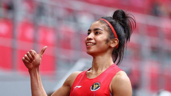 Sprinter putri Indonesia Alvin Tehupeiory bertekad memecahkan rekor nasional milik Irene Truitje Joseph dalam heat 2 babak utama 100 meter Olimpiade Tokyo 2020.