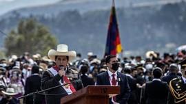 Politikus Sosialis Pedro Castillo Jadi Presiden Baru Peru