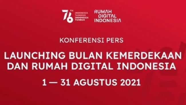 Memasuki bulan kemerdekaan, masyarakat sudah bisa mengakses Rumah Digital Indonesia (RDI) mulai sore ini, 1 Agustus 2021 pukul 15.00.